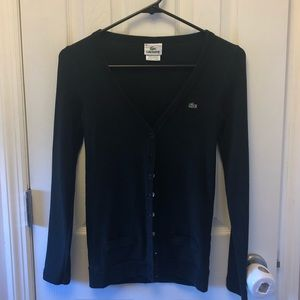 Lacoste Buttoned Cardigan